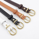 Retro pin buckle casual belt Korean fashion ancient gold buckle wild belt NHPO203968