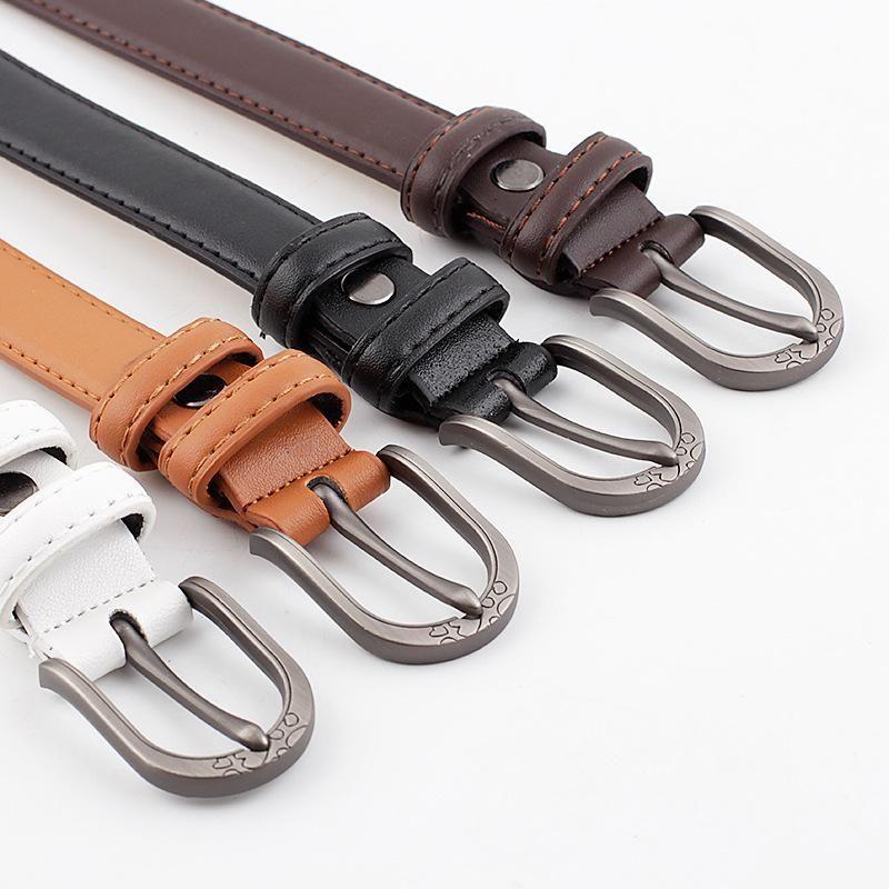 New fashion pin buckle belt wild belt women wholesale NHPO203971