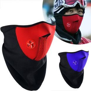 Outdoor riding windproof warm mask mask ski face mask NHJA204039's discount tags