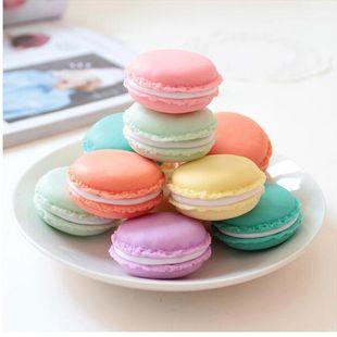 Macaron mini boîte à bijoux portable articles divers boîte de rangement maison pilule boîte trompette NHJA204055's discount tags