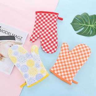 Cotton and bake gloves microwave oven gloves insulated gloves barbecue gloves NHJA204058's discount tags