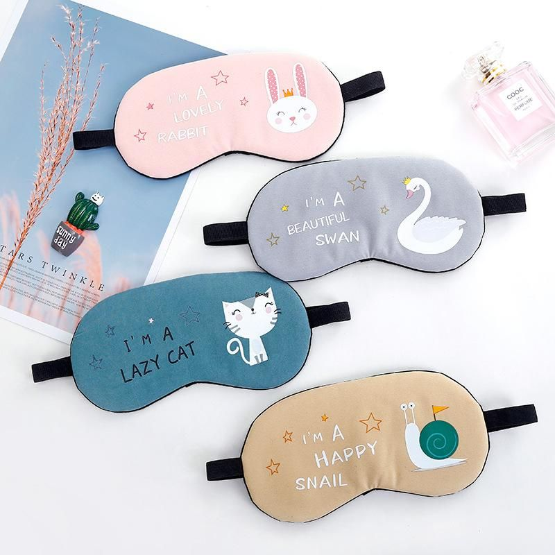 Cute cartoon eye mask animal ice pack ice pack shading polyester cotton cold and hot compress goggles sleep eye mask NHJA204091