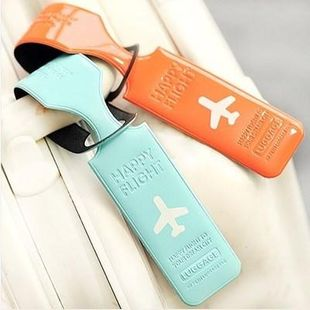 Korean Luggage Business Card Consignment Luggage Tag Luggage Tag Luggage Tag Travel Trolley NHJA204096's discount tags