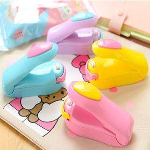 Portable Mini Sealer Snack Plastic Bag Sealer Travel Hand Pressure Heat Sealer NHJA204098's discount tags