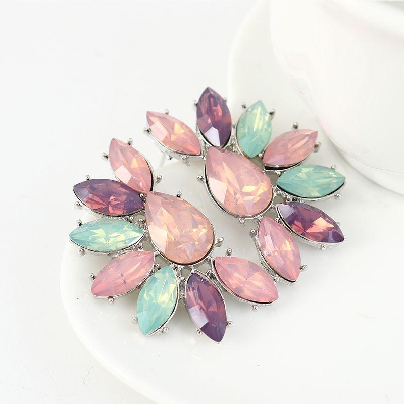 Korean fashion simple and fresh wild small flower earrings NHPS204112