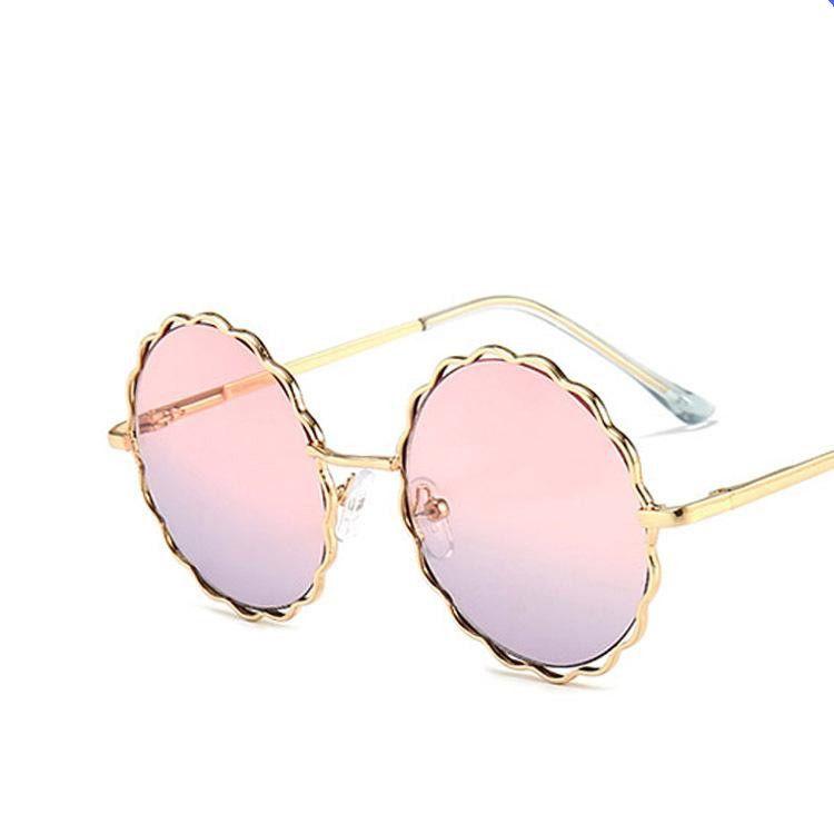 Flower children's sunglasses metal new boys girls sunglasses marine sunglasses spring legs parent-child NHKD203913