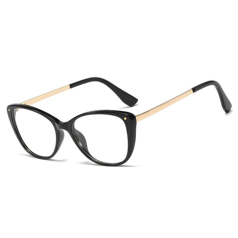 New simple frame mirror ladies M nails wild fashion glasses wholesale NHFY203889