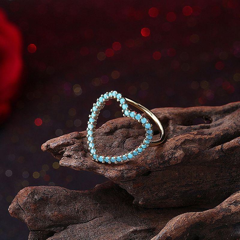 New fashion simple love sweet ring women wholesale NHKL203784