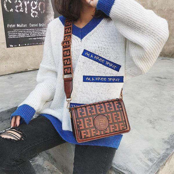 New Fashion Texture Single Shoulder Broadband Messenger Bag Popular Bag Wholesale NHTC204157