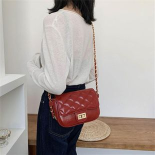 Spring new wave Korean wild messenger fashion chain shoulder small square bag wholesale NHTC204159's discount tags