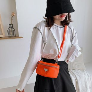 Chest bag women's new spring belt bag knot knot shoulder strap women's wholesale NHTC204163's discount tags