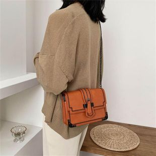 Spring simple wild messenger bag chain shoulder bag new fresh small square bag wholesale NHTC204173's discount tags
