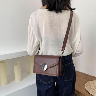 Retro small square bag female simple fashion new spring Korean messenger bag wholesale NHTC204186's discount tags