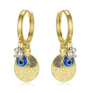 New Fashion Tassel Pendant Multilayer Sequin Earrings Wholesale NHGO204391's discount tags