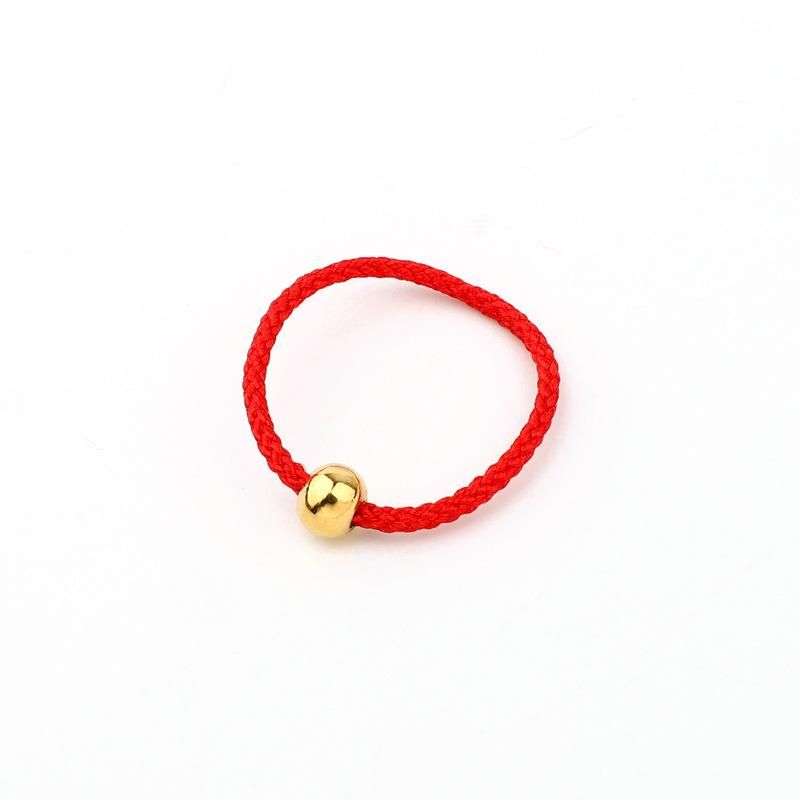 New fashion transfer bead ring red rope ring wholesale NHGO204406