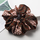 Spring new retro flower printing cloth hair ring cheap rubber band hair rope women NHLN204428