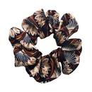 Fashion mixed color flower cloth hair ring female Korean rubber band cheap head rope wholesale NHLN204431