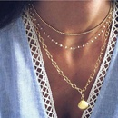 Bohemian Alloy Necklace Fashion Vacation Beach Series Multilayer Shell Necklace NHMD204433