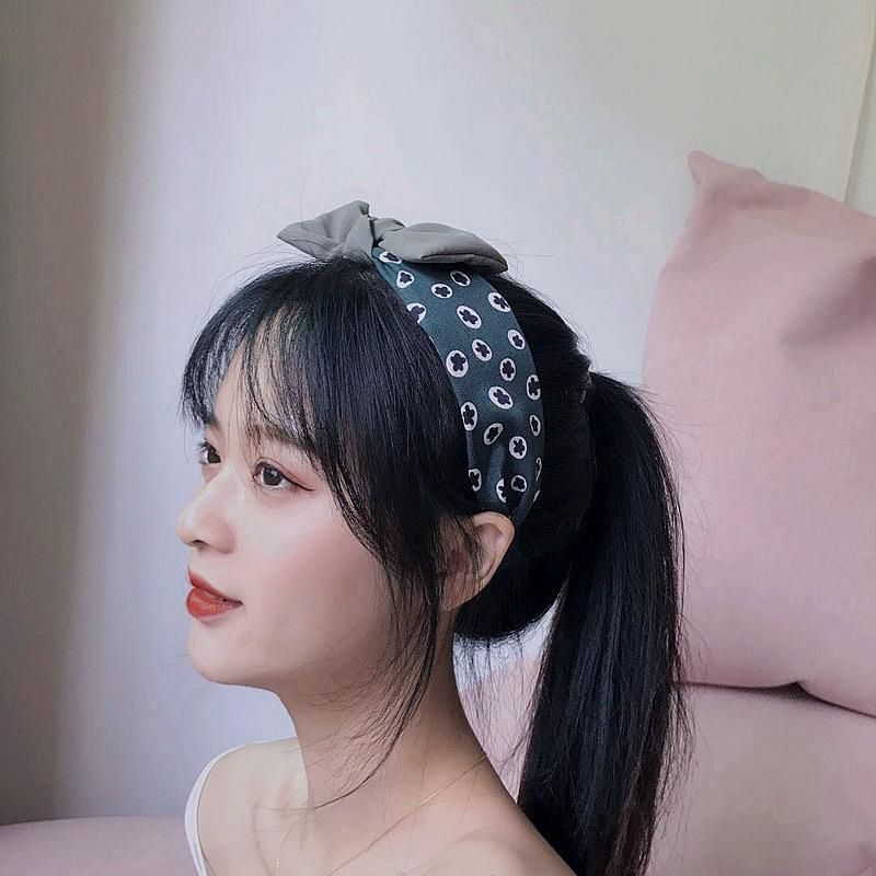 New simple knot color matching bow simple hair hoop NHHI204501