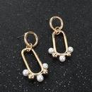Bijoux Mode Explosion Boucles D39oreilles Creux Ovale Cheval Oeil Pendentif Boucles D39oreilles NHCT204517