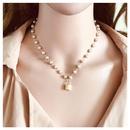 New fashion geometric pendant necklace simple wild alloy pendant necklace women NHCT204519