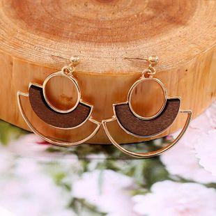 New alloy creative earrings for women geometric jewelry NHLA204615's discount tags
