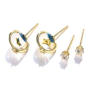 2-piece earrings simple earrings wholesales yiwu  NHPP204647's discount tags