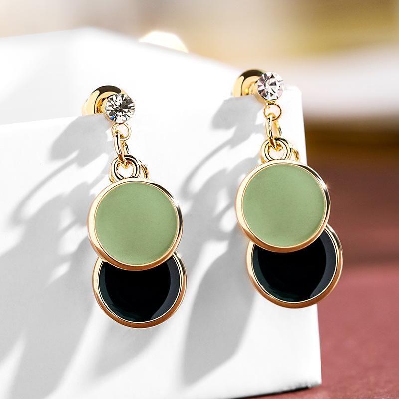 925 Silver Needle Geometric Earrings wholesales yiwu  NHPP204656