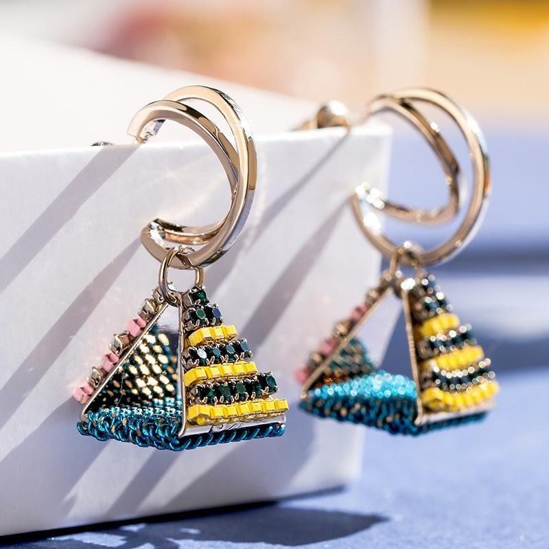 925 Silver Pin Fashion Geometric Earrings Retro Simple Earrings wholesales fashion yiwu  NHPP204657