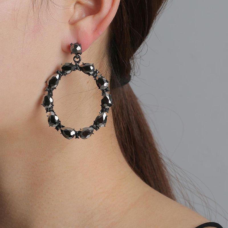 New Fashion Geometric Round Earrings for Women Wholesale NHJJ204702