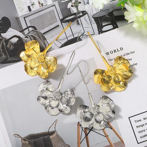 New half flower long fashion ear jewelry women wholesales fahsion NHJQ204719