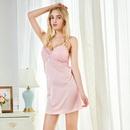 New fashion suspenders pajamas net sexy skirt with chest pad pajamas wholesale NHMR204774
