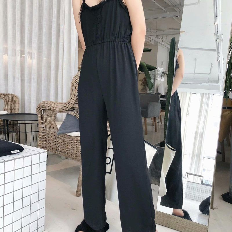 Wholesale New Fashion Spring Lace Sling Jumpsuit Casual Pants for women NHAM204853