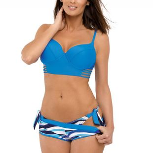 New printed bikini sexy bikini women's swimwear three-piece split swimsuit NHHL204990's discount tags
