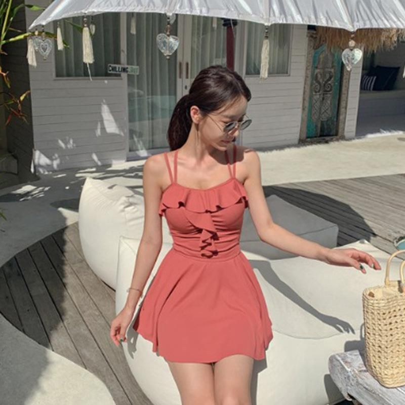 New Fashion Sexy Skirt One Piece Swimsuit Wholesale NHHL204996