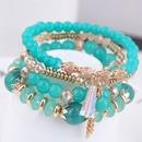 Korean fashion simple crystal bead multilayer female bracelet NHSC205076