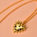 Yi wu jewelry new goldplated love necklace punk style necklace women wholesale NHOT205731
