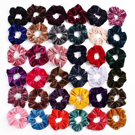 Nueva moda 46 color terciopelo oro terciopelo anillo de pelo barato al por mayor NHDM205020's discount tags