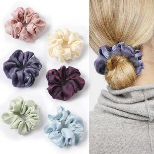 New fashion simple wild Korean silk fabric cheap hair ring wholesale NHDM205022's discount tags