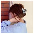 Korean Acrylic Acrylic Hair Accessories Marble Retro Large Cheap Hair Clip Wholesale NHDM205027