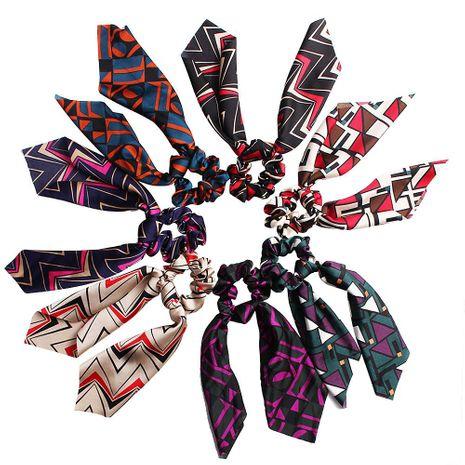 Nouvelle mode satin grand arc ruban élastique tissu pas cher cheveux anneau en gros NHDM205032's discount tags