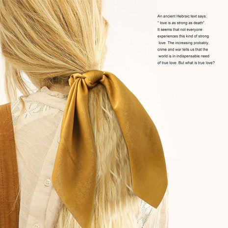 Nouveau long satin plaine anneau de cheveux streamer imprimé pas cher anneau de cheveux en gros NHDM205045's discount tags