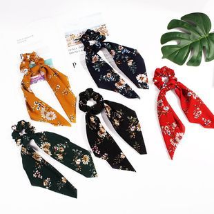 New Fashion Spring Ribbon Hairband Knotted Square Scarf Tassel Cheap Hairband Wholesale NHDM205052's discount tags