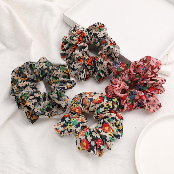 New fashion cotton and linen fabric Korean cheap hair ring wholesale NHJE205097