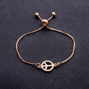 Retro Fashion Simple Bracelet and Peace Fatima Bracelet Women Wholesale NHPV205101
