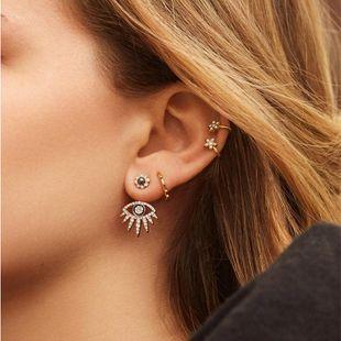 New Fashion Jewelry Earrings with Diamond Eye Tassel Earrings NHJQ205208's discount tags