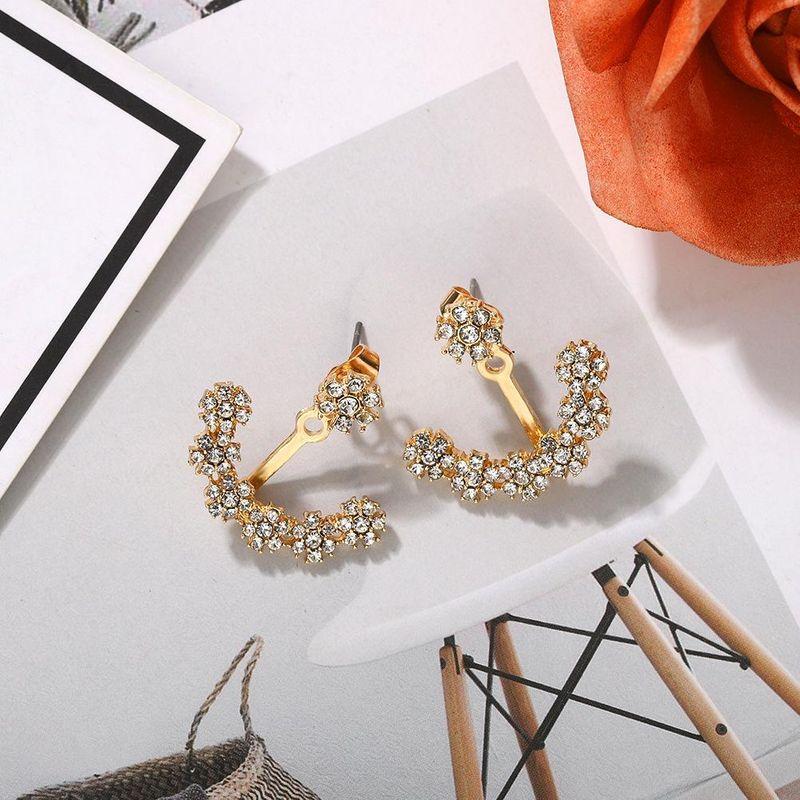Fashion Cupid Arrow Shape Dual Earring Jewelry NHJQ205210