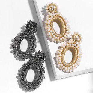 New jewelry earrings for women Bohemia Mizhu earrings NHAS205231's discount tags