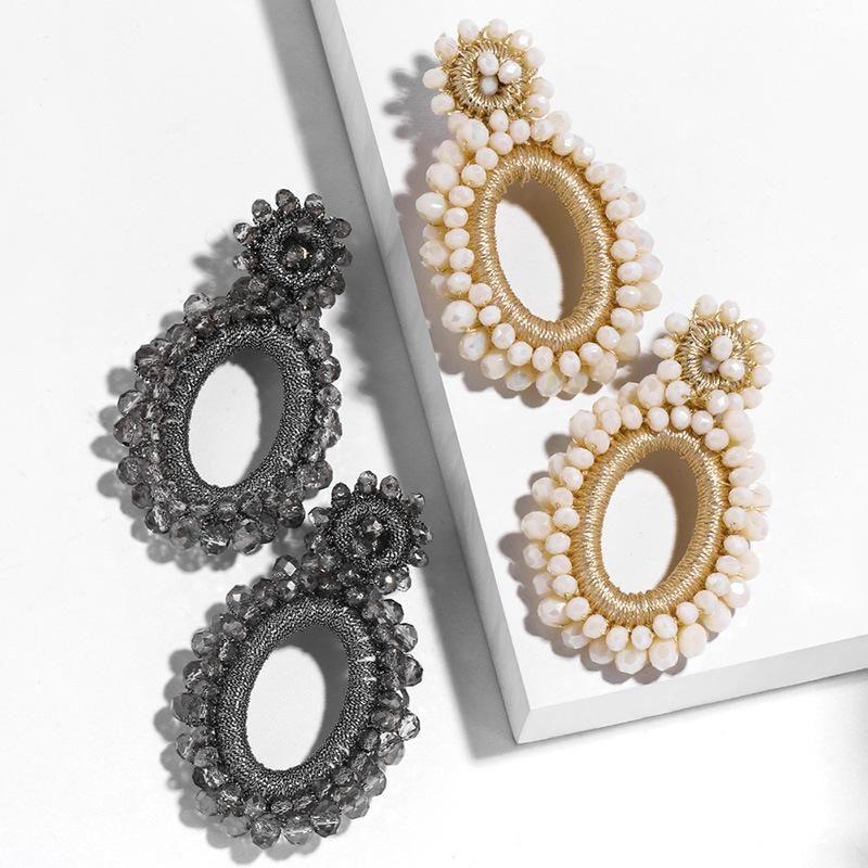 New jewelry earrings for women Bohemia Mizhu earrings NHAS205231