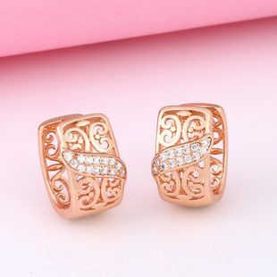 Aretes Moda AAA Cubic Zirconia Pendientes Mujer NHAS205238's discount tags